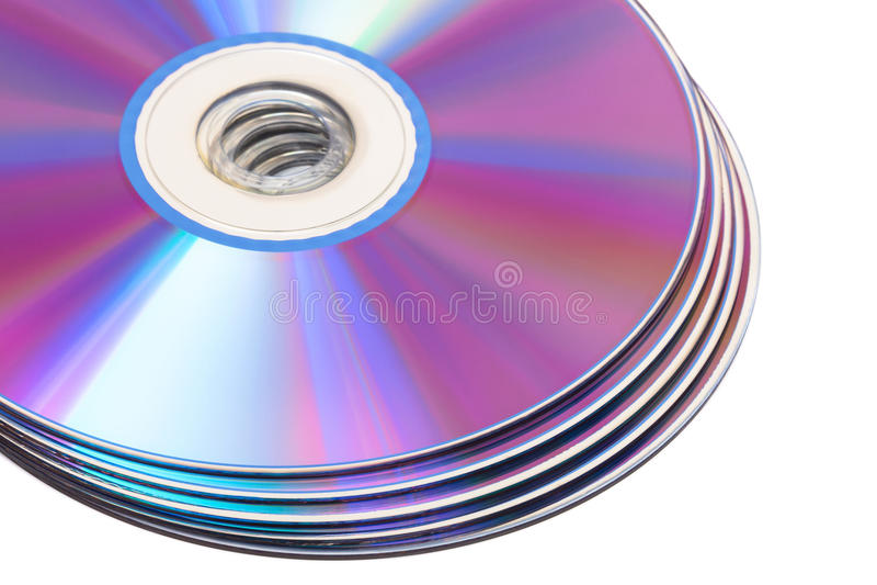 Диски компактного диска стоковые фото