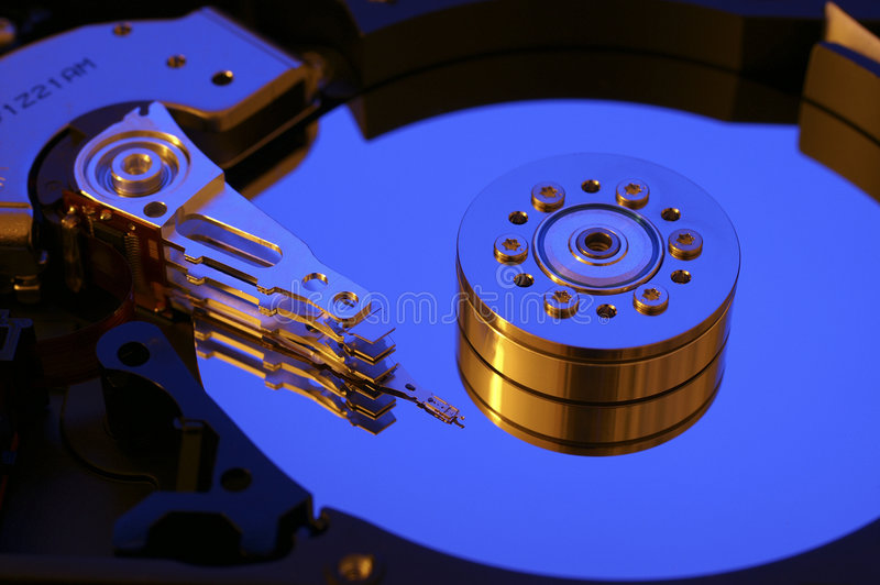 дисковод компьютера трудный стоковое фото rf