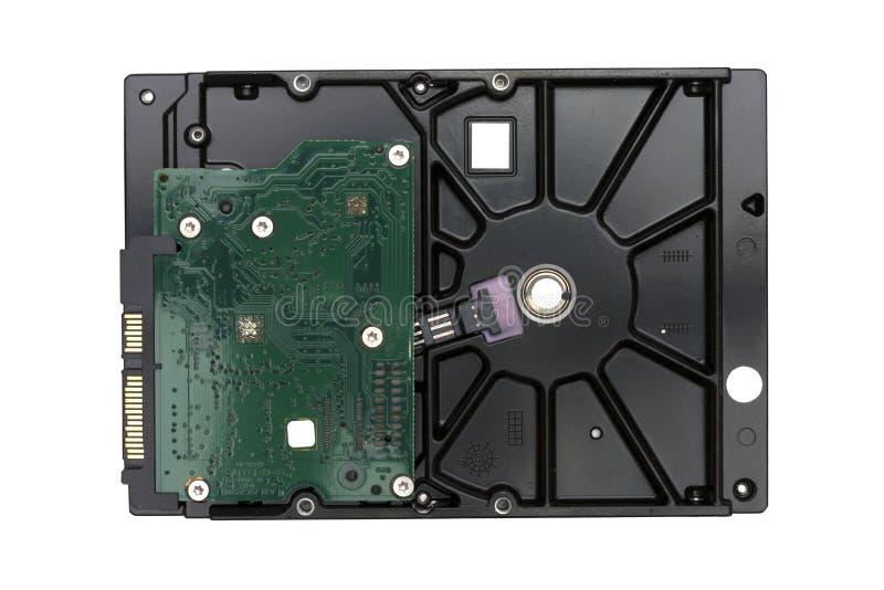 Дисковод жесткого диска (HDD) изолированный на белой предпосылке стоковые фотографии rf