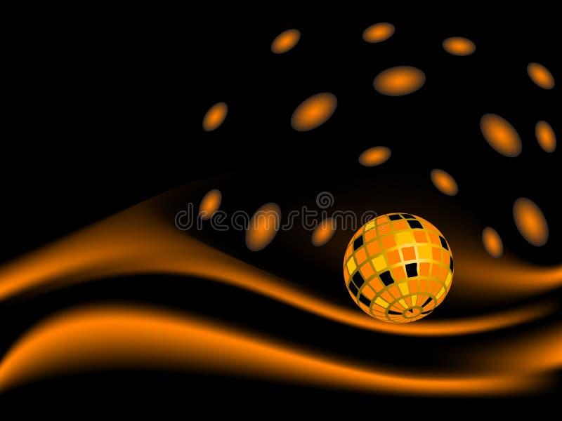 диско шарика иллюстрация вектора