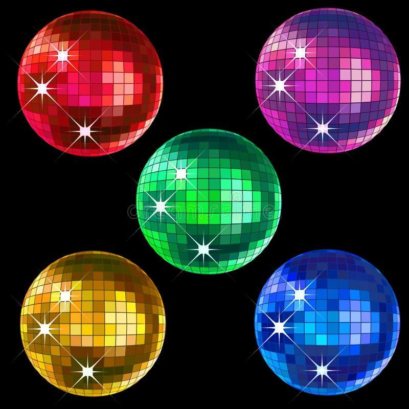 диско шариков иллюстрация штока