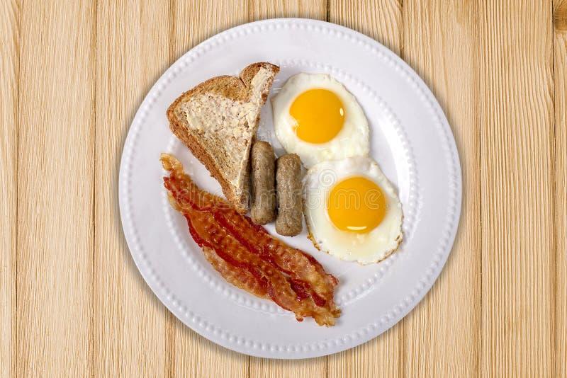 Диск завтрака Topside стоковая фотография rf
