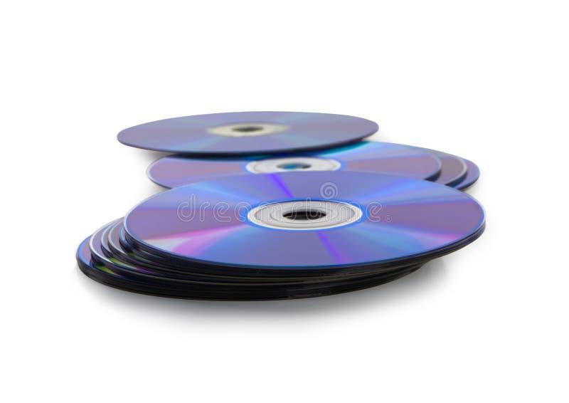 Диск КОМПАКТНОГО ДИСКА или DVD. стоковое изображение rf