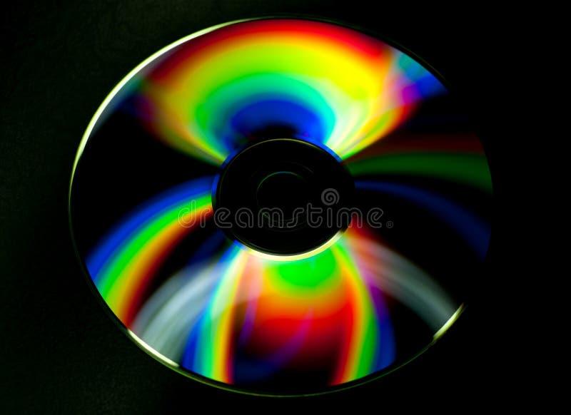 Диск КОМПАКТНОГО ДИСКА и DVD стоковые фотографии rf