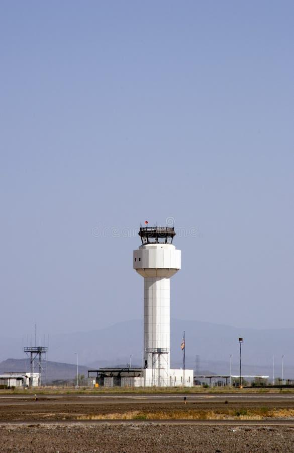 диспетчерская вышка авиапорта стоковая фотография rf