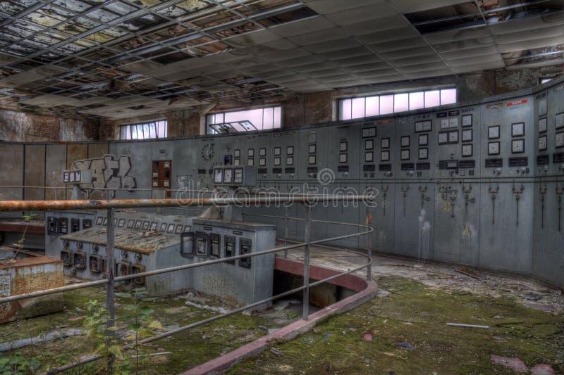 Диспетчерский пункт Elctrical стоковая фотография