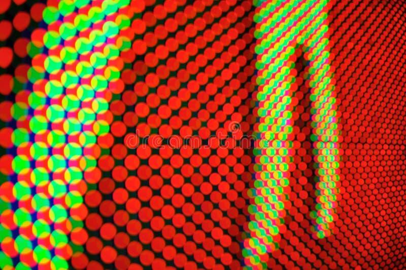 дисплей вел стоковая фотография rf