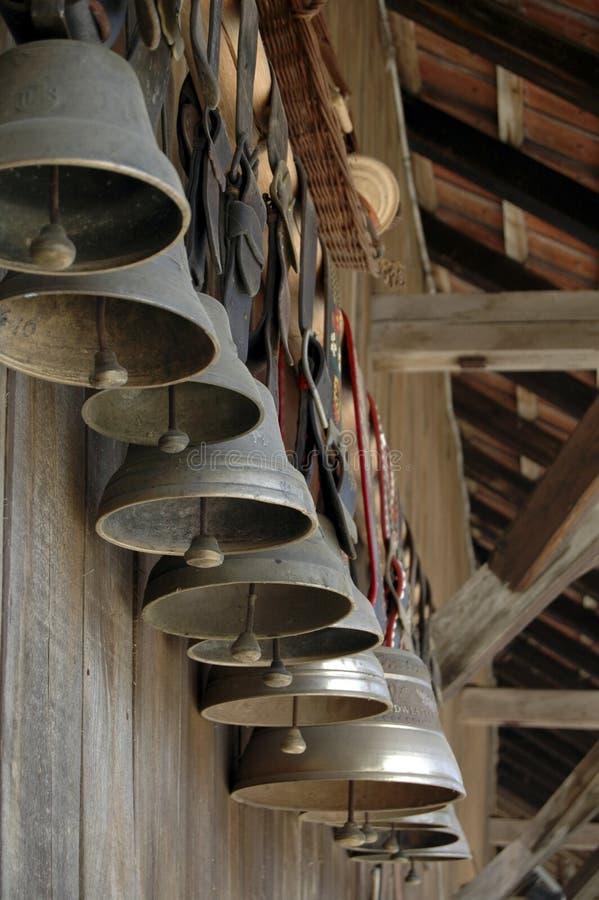 дисплей колоколов стоковая фотография rf