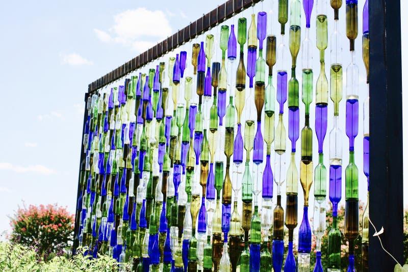 Дисплей бутылки на западном центре сельскохозяйственного исследования Теннесси стоковая фотография rf