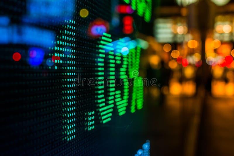Download Дисплей рыночной цены фондовой биржи Стоковое Фото - изображение насчитывающей backhoe, компания: 41660894