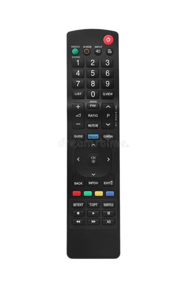 Дистанционное управление TV стоковые фотографии rf