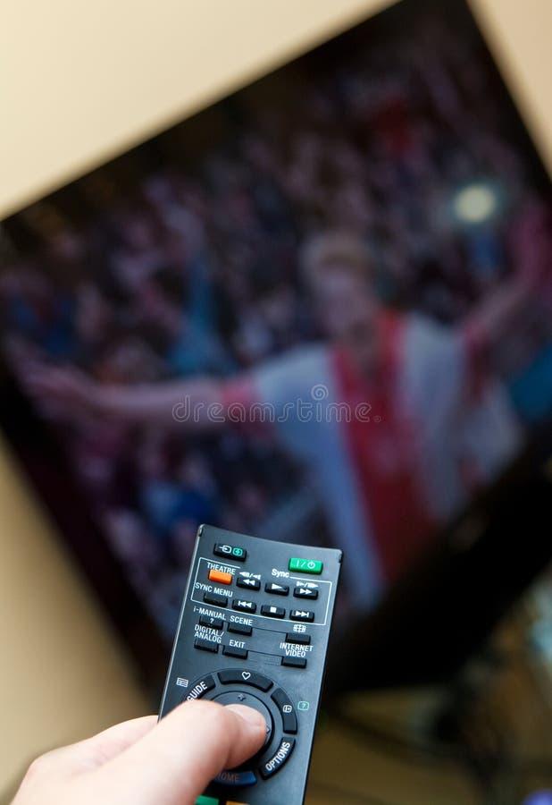 дистанционный tv стоковые фото