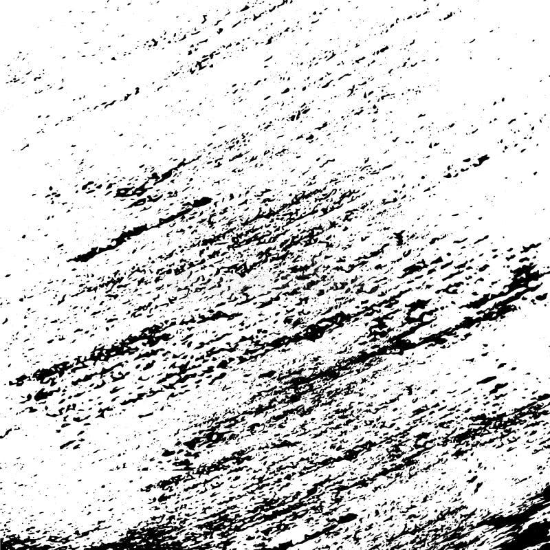 Дистресс текстуры Grunge Черная предпосылка шаблона иллюстрация вектора