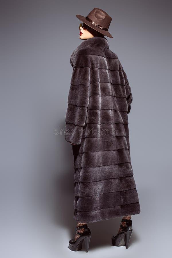 Длинная меховая шыба стоковые фото