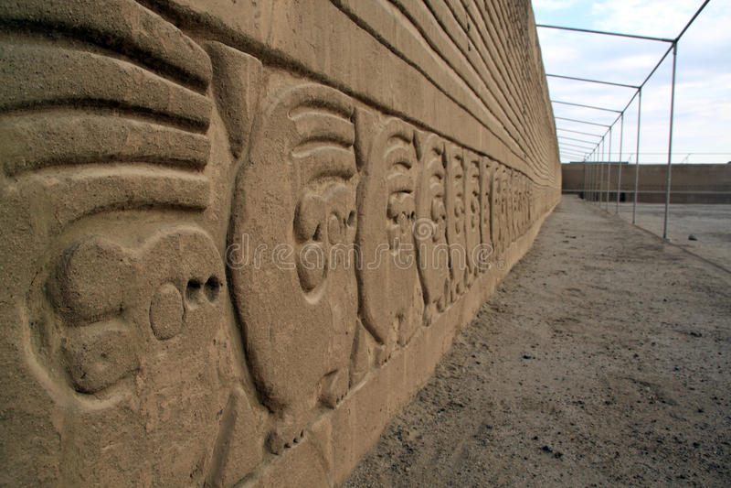 длинняя стена стоковое изображение