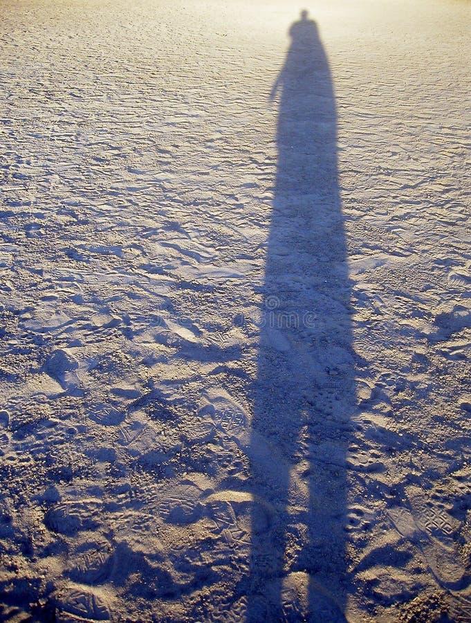 длинняя тень Стоковое Изображение
