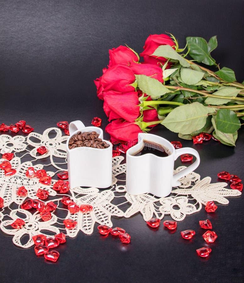 Для влюбленности кофе Ритуалы утра стоковые изображения rf