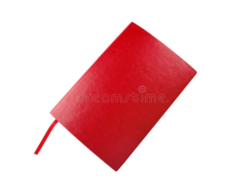 Дневник красного цвета стоковые изображения rf