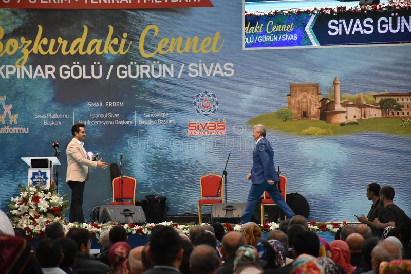 Дни 2017 Ä°stanbul Sivas, Турция стоковое фото rf