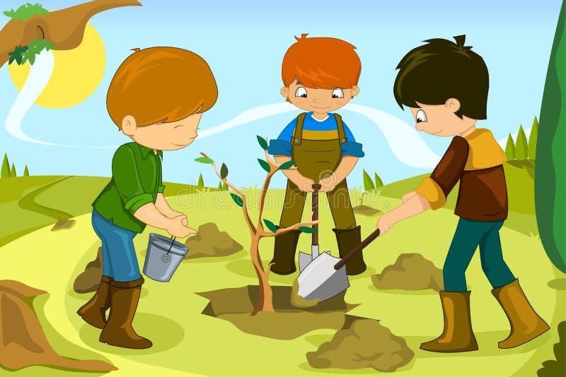 Добровольные дети бесплатная иллюстрация