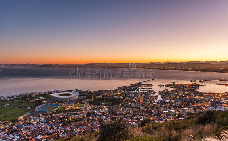 Доброе утро Кейптаун Южная Африка стоковые изображения
