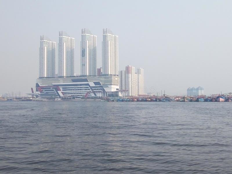 Добро пожаловать к Джакарте стоковое изображение rf