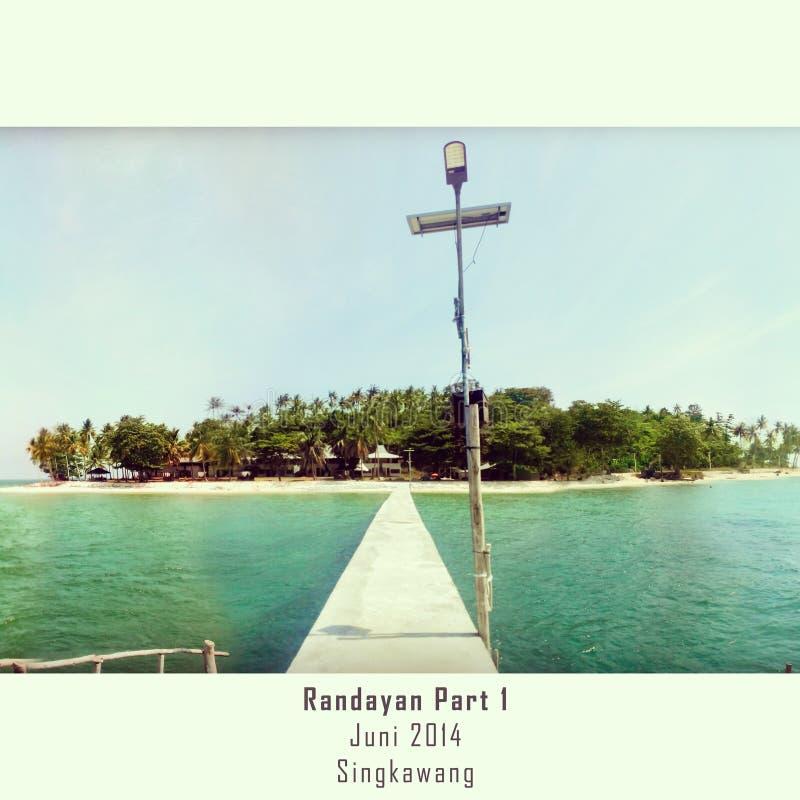 Добро пожаловать к Randayan стоковые изображения rf