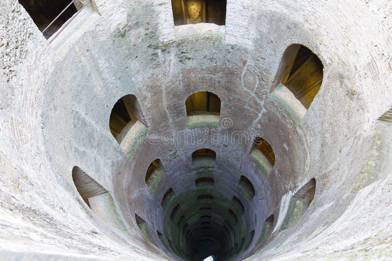 Добро St. Патрик. Orvieto. Umbria. Италия. стоковое фото rf