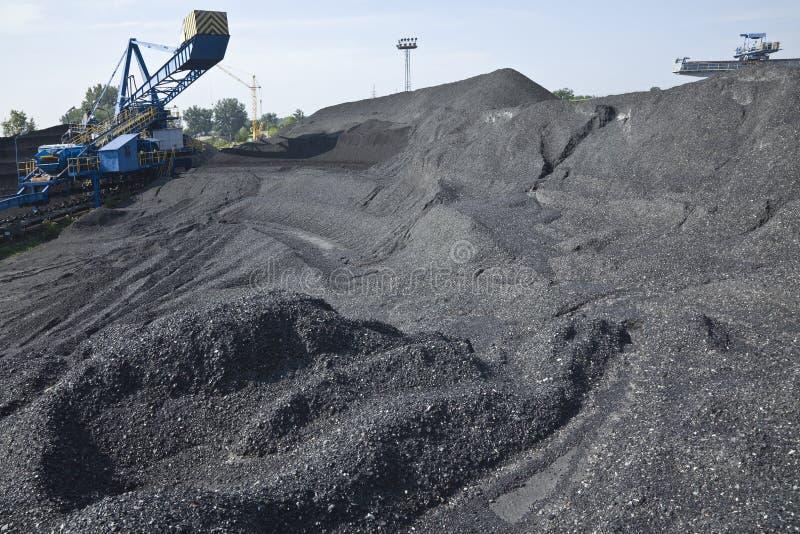 добыча угля стоковые фото