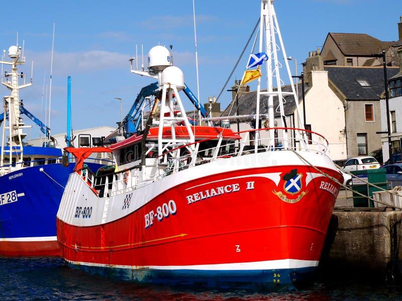 Доверие II BF800 рыбацкой лодки стоковая фотография