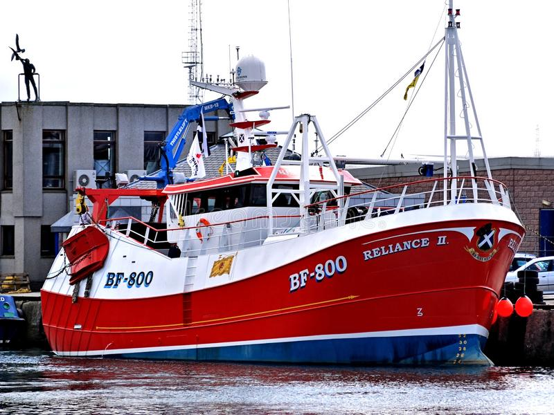 Доверие II BF800 рыбацкой лодки стоковые изображения
