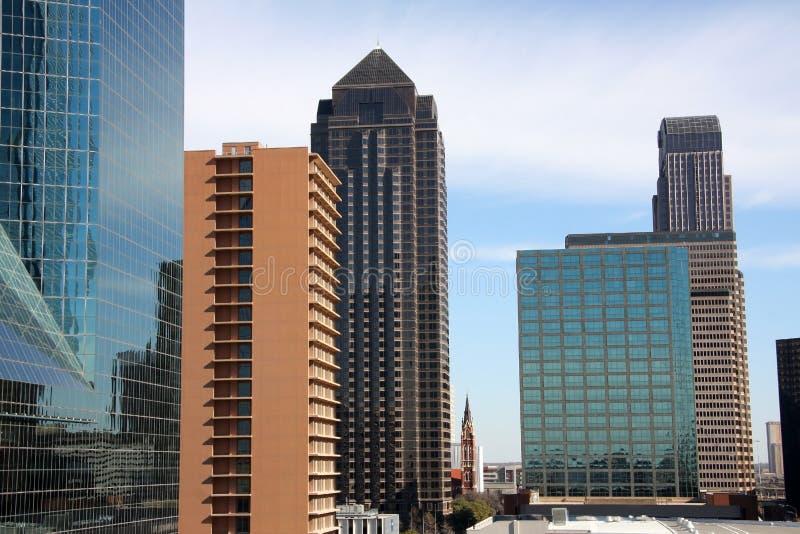 Довольно самомоднейшие офисные здания стоковое фото