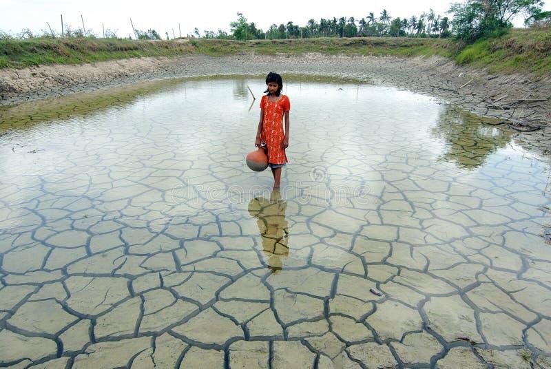 дождевая вода засухи стоковые фото