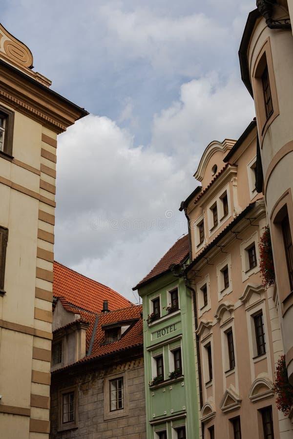Дождливая осень в Праге стоковое фото