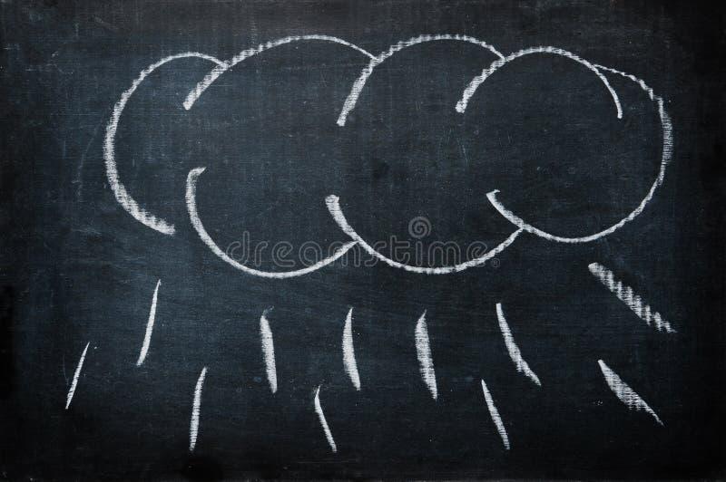 дождь облака стоковое изображение