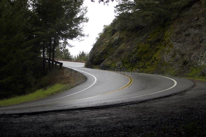 дождь s горы загиба стоковые изображения rf
