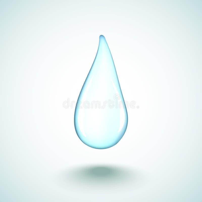 Дождевая капля иллюстрация штока