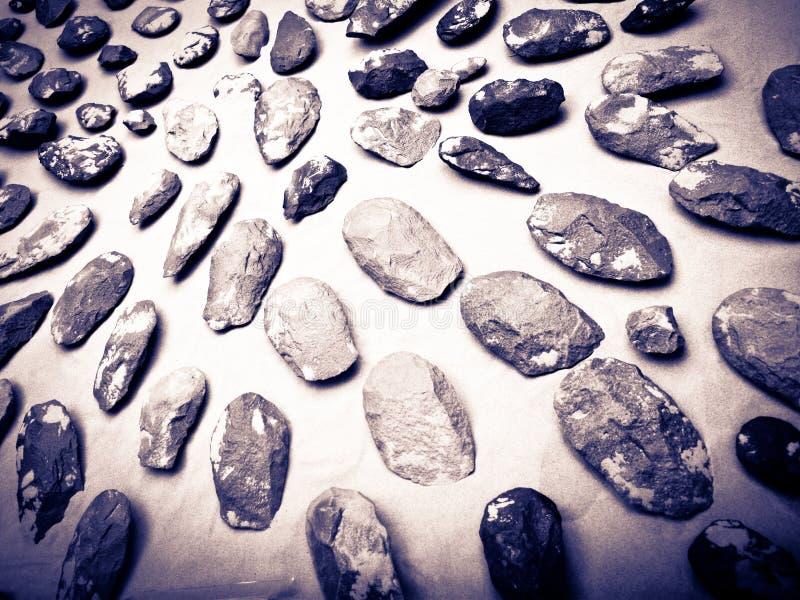 доисторический инструмент стоковое изображение