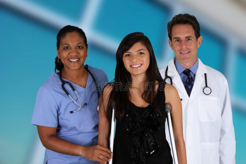Доктора и медсестра стоковое изображение rf