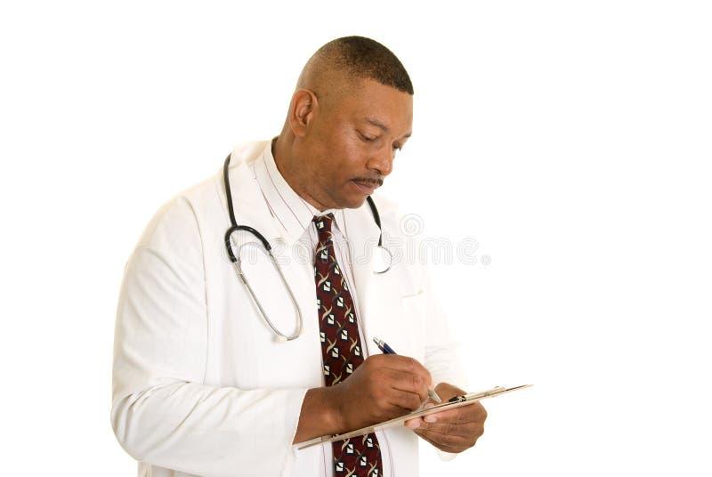 доктор афроамериканца стоковое фото rf