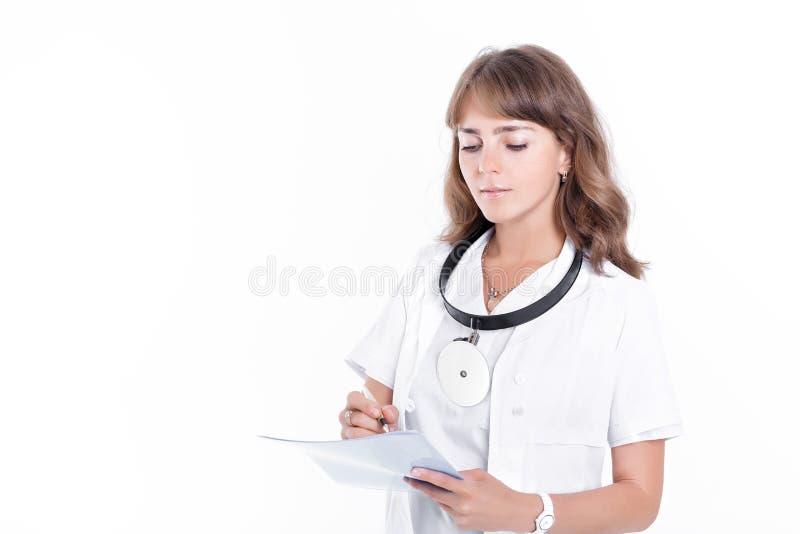 Доктор женщины ENT стоковые фотографии rf