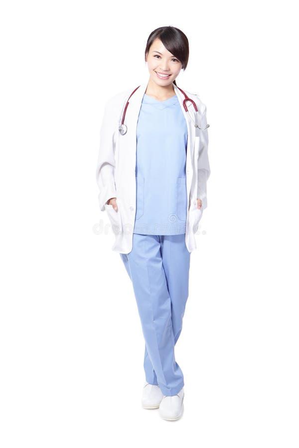 Доктор или нюна профессиональной женщины стоковое изображение rf