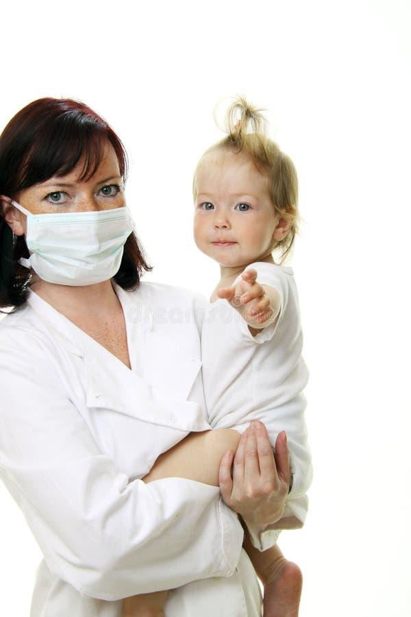 доктор младенца стоковое изображение rf