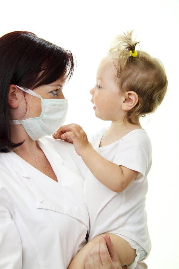 доктор младенца стоковые фотографии rf