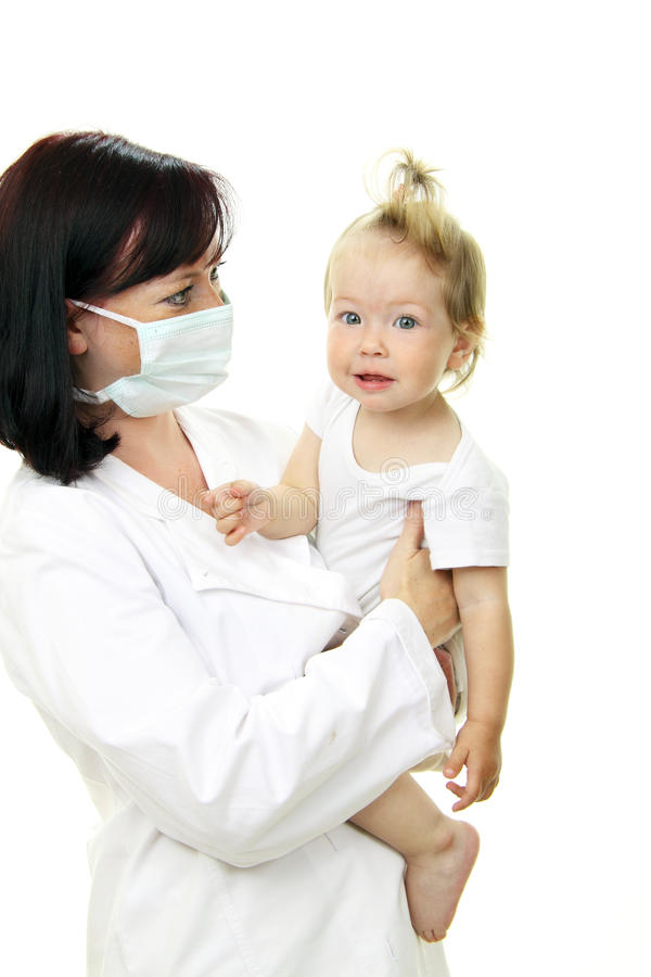 доктор младенца стоковое фото rf