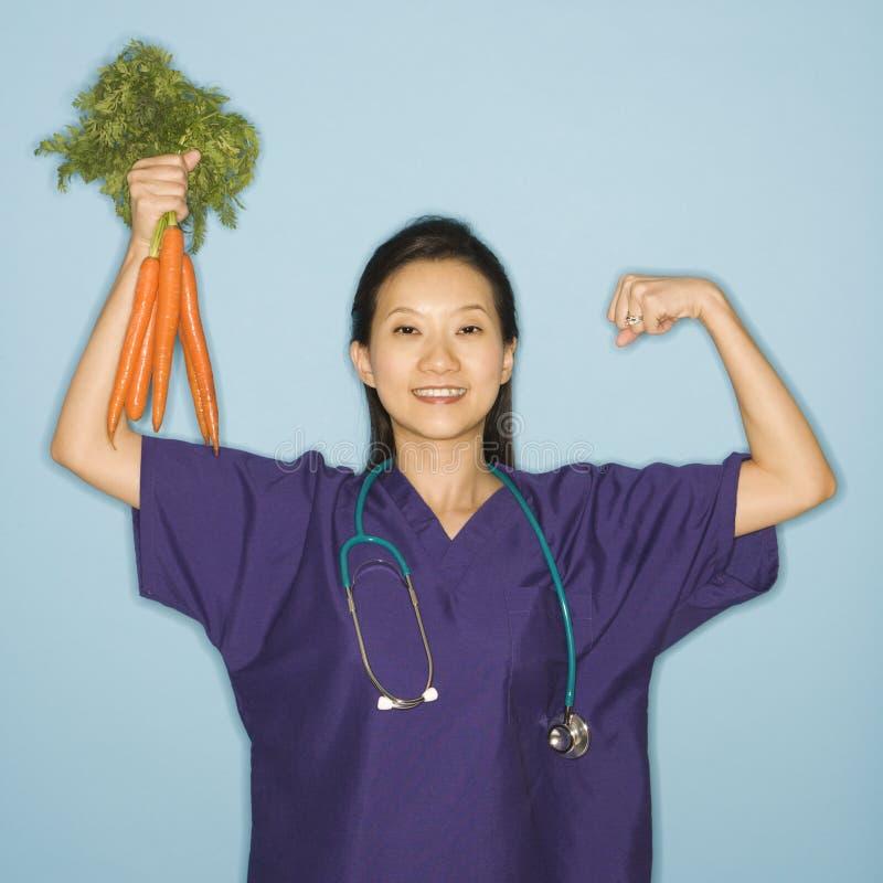 доктор морковей стоковая фотография rf