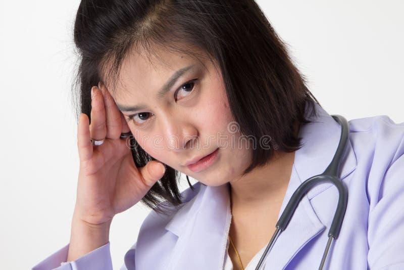 Доктор молодой женщины стоковое фото