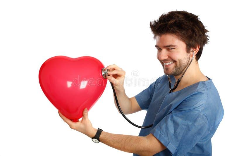 доктор счастливый стоковая фотография