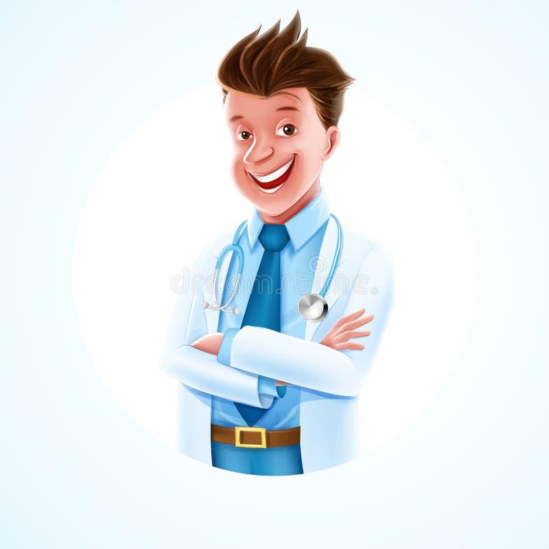 Доктор иллюстрация вектора