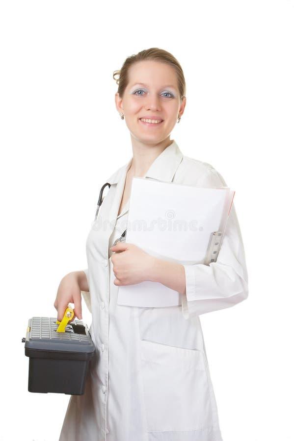 доктор julia стоковая фотография rf